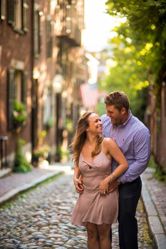 engagement on acorn street